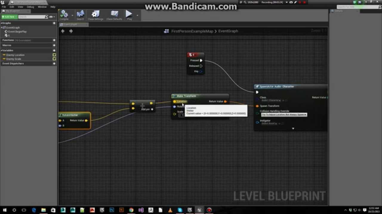 Spawn Actors Relative to Player - Unreal Engine Quick Tutorial