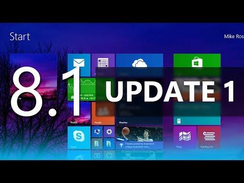 Windows 8.1 (Update 1) Demo