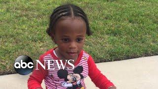 Toddler abandoned outside a Houston home