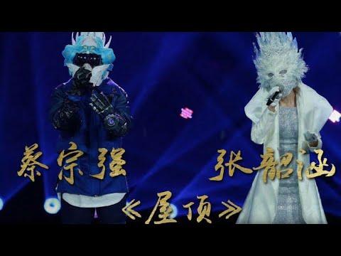 【無雜音】張韶涵&蔡宗強-屋頂【字幕】 蒙面唱將猜猜猜第二季