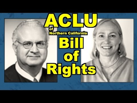 ACLU of Northern California Bill of Rights Day: Justice Carlos Moreno, Nancy Pemberton, Abdi Soltani