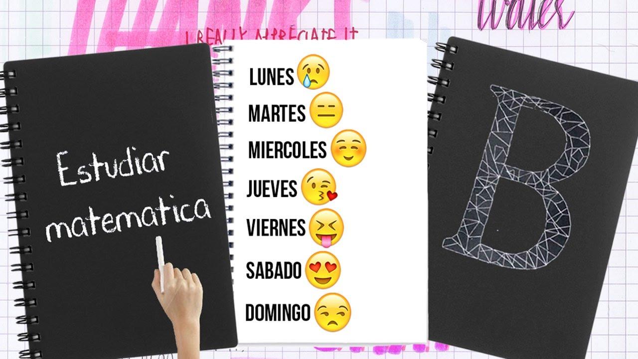 decora tus cuadernos decora tus utiles escolares para el regreso a clases tutoriales belen youtube