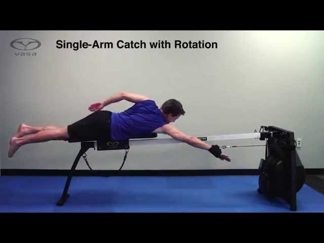 Swim Technique Drill: Single-Arm Catch with Full Rotation
