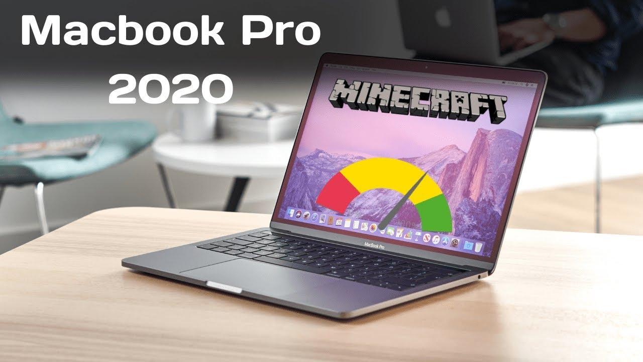 """10 Macbook Pro 10"""" Minecraft Test"""
