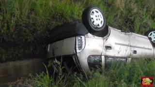 Nos estrellamos  en carretera !   Gracias por el Apoyo // Accidente Vehicular, CHEVY DESPEDAZADO