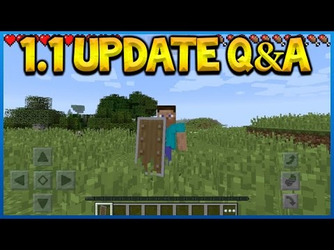 Minecraft Pocket Edition Update 1 1 Q A Are Shields And Banners Coming Pocket Edition Eckoxsolider
