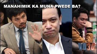 Mukha ni Trillanes matapos barahin siya ni Pacquiao kaugnay kay PAOLO DUTERTE