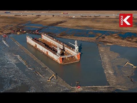 KOOLE - Salvage of 6,000 ton drydock