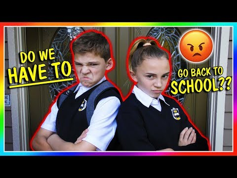 DO WE HAVE TO GO TO SCHOOL? | We Are The Davises
