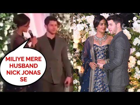 Priyanka Chopra Nick Jonas EMOTIONAL Speech For Media And Fans At Mumbai Reception 2018