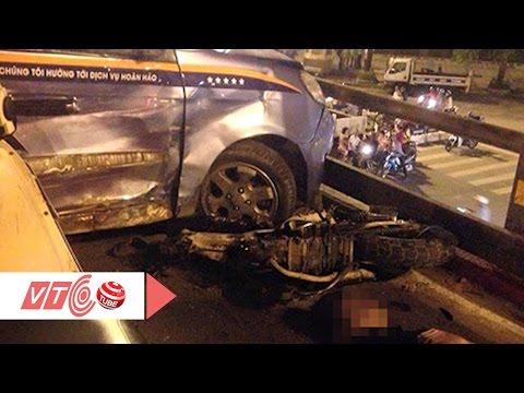Taxi đâm liên hoàn: Tài xế nhảy cầu giờ ra sao? | VTC