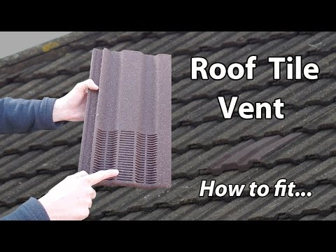 Roof Ventilation Tile Amp Bathroom Exhaust Vent Extractor