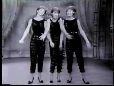 McGuire Sisters Vaudeville routine (2/9/61)