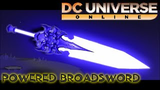 dcuo how to get ventus sgn s glowing 2 hand sword powered broad sword style