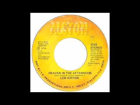 Lew Kirton - heaven in the afternoon - Raresoulie