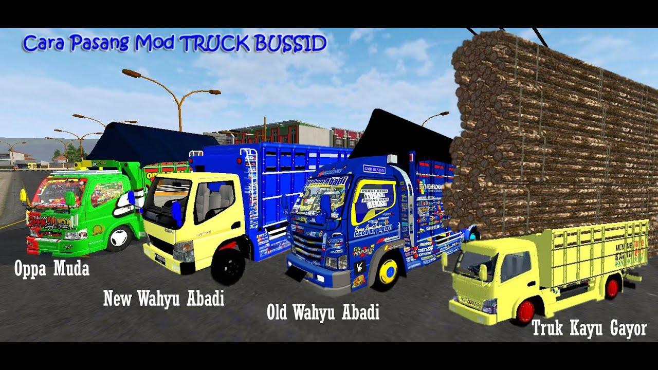 Cara Pasang Mod Truk Oleng Bus Simulator Indonesia Youtube