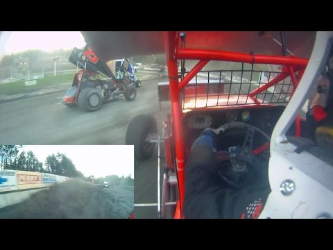 Dan Douville In-Car SCoNE | Bear Ridge Speedway 7-25-2015
