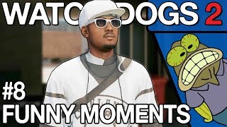 Watch Dogs 2 - Funny WTF PVP Moments #8