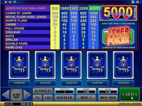 Poker Vidéo en ligne | Casino.com Suisse