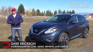 DETAILED Review | 2015 Nissan Murano AWD on Everyman Driver