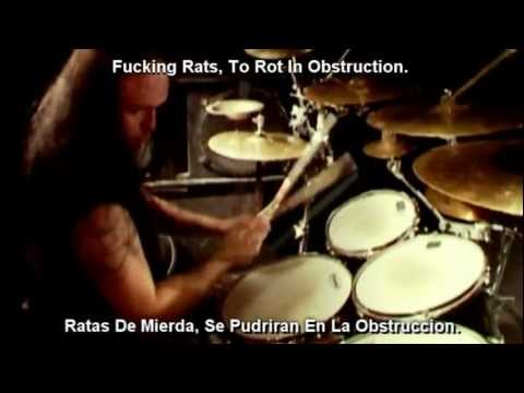 Dying Fetus - One Shoot, One Kill [Lyrics Y Subtitulado Al Español]