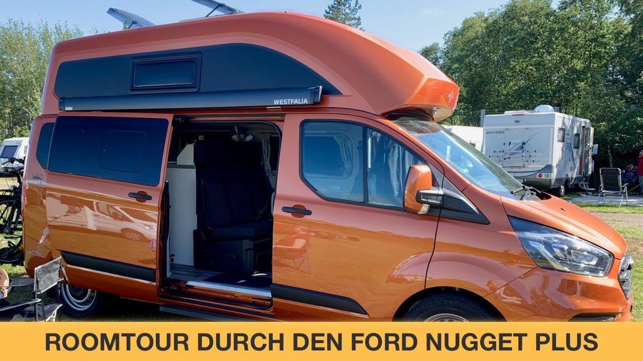 Roomtour Durch Den Ford Nugget Plus Welche Unterschiede Gibt Es