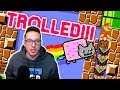 A Mario Maker TROLL Level Based On a 10 Year Old Meme!!!