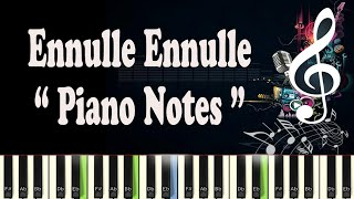 (Ilayaraja) Ennulle Ennulle - Valli - Piano Notes - MIDI - Sheet Music - Karaoke