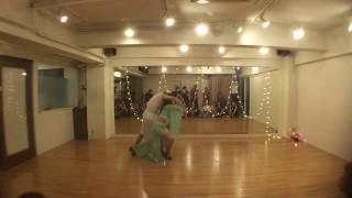 Ayako & Hide Zouk Performance -Salsa Rico in Tokyo ,Japan
