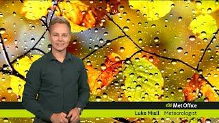 Sunday afternoon forecast 23/09/18