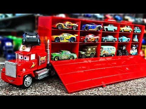 Thumbnail: Disney Pixar Cars Mack Truck Hauler Disney Cars 3 Lightning Mcqueen Disney Truck Car 3