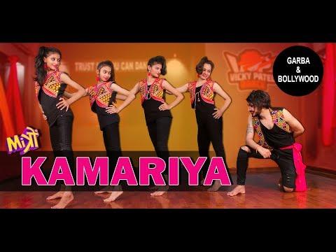 Kamariya – Mitron | Garba With Bollywood Vicky Patel Dance Choreography | Darshan Raval