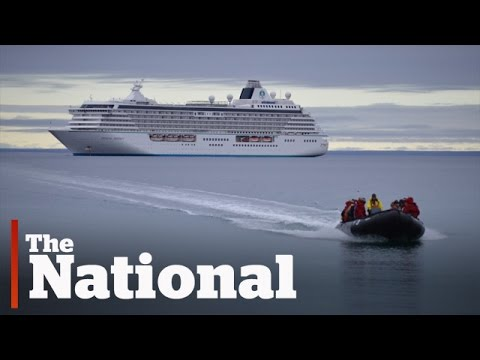 Massive cruise ship signals new era of Arctic tourism
