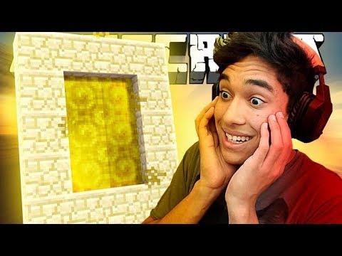 ENTREI EM UM PORTAL DO MINECRAFT - #01 thumbnail