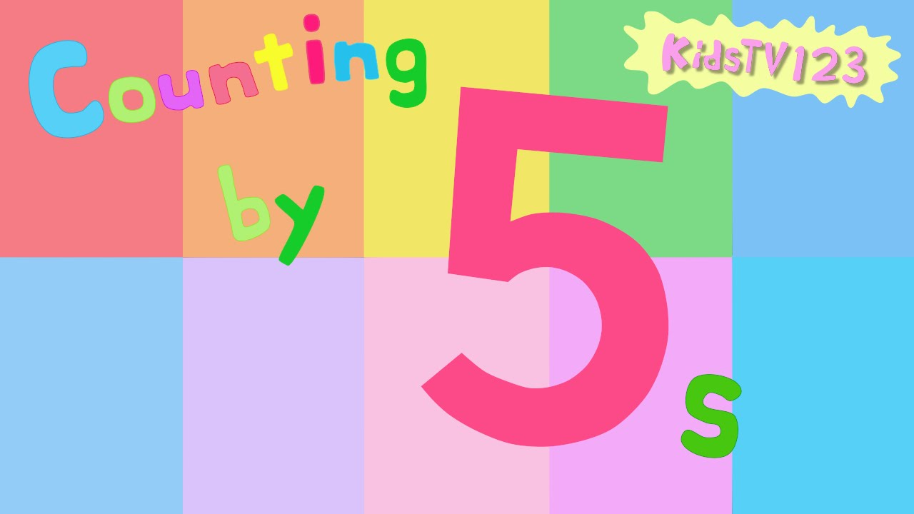 Counting By 5s Youtube