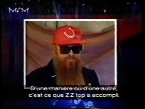 ZZ Top interview / live clips 1992