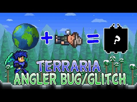 Terraria 1.2.4 Sleeping Angler Bug/Glitch For Ios/Android 2016
