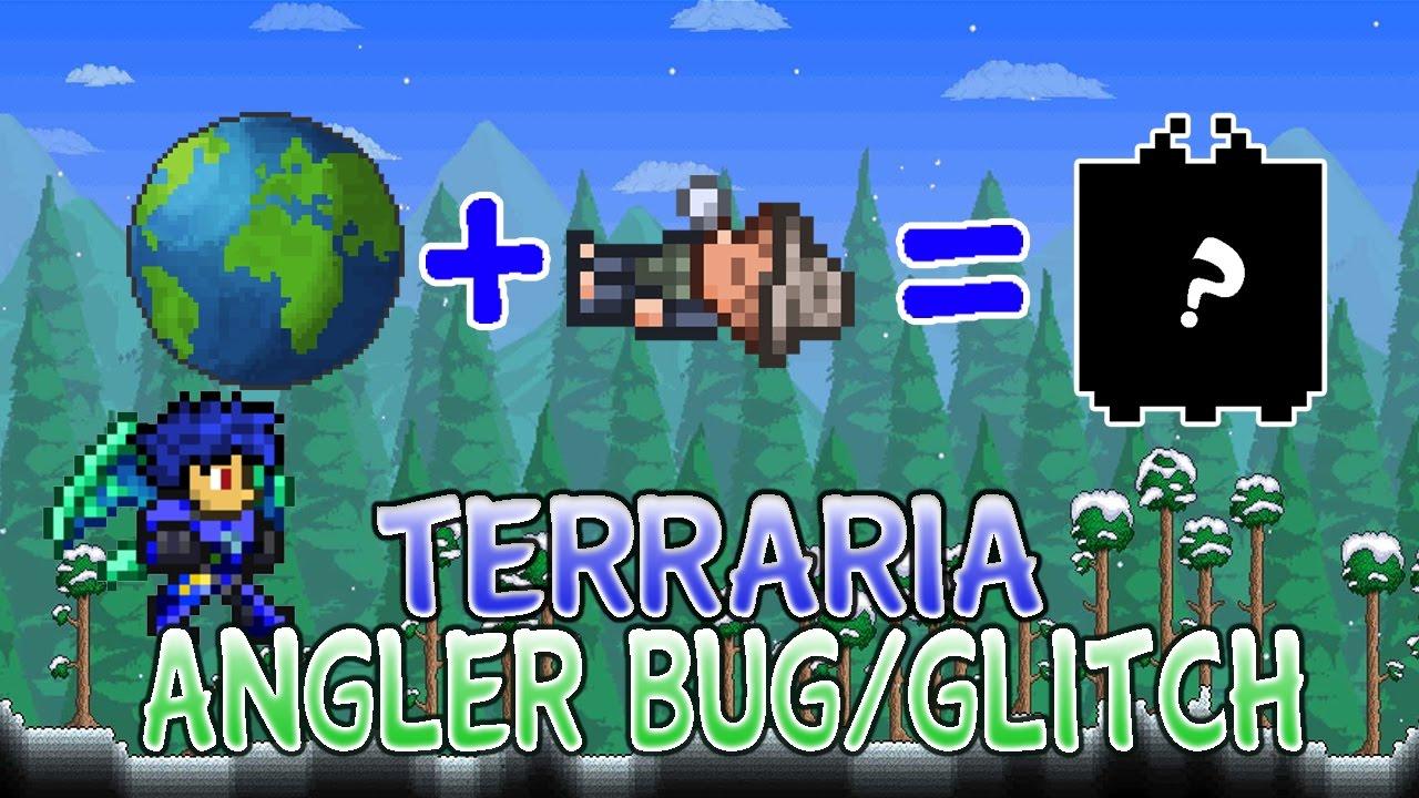 how to get angler npc in terraria ios