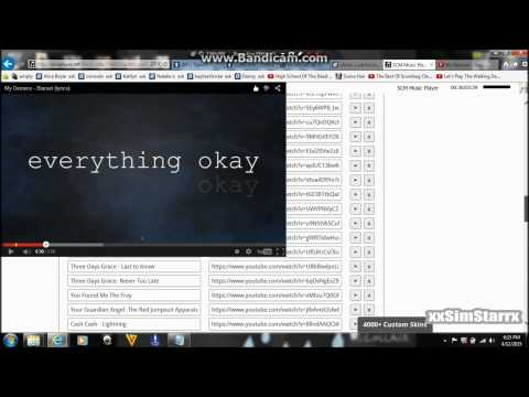 Tutorial on how to put a music player on your tumblr