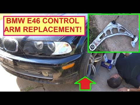 2000 bmw 323i control arm bushing replacement