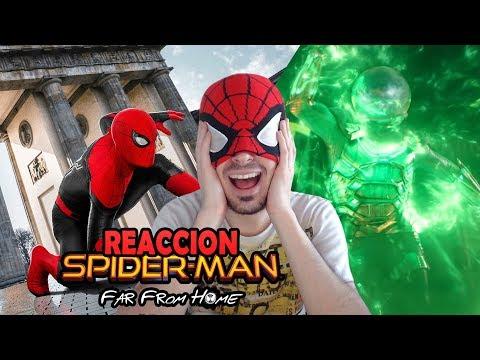 REACCION TRAILER SPIDERMAN: FAR FROM HOME