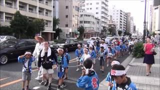 平成27年 天王寺区 五條宮 だんじり祭り 2015/07/15(水)