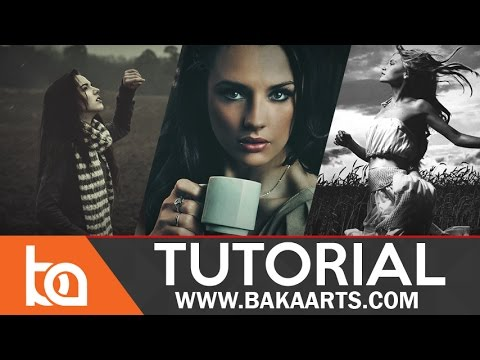 Beginner Photoshop Tutorial | Make your own Filter/Action packs