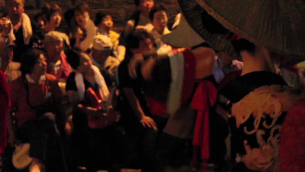 2012年8月18日 快_2012年8月18日 西馬音内の盆踊り Nishimonai Bon Odori - YouTube