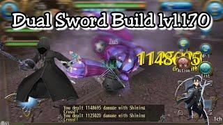 Toram Online Build Dual Sword Level Cap 170