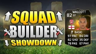 FIFA 15 SQUAD BUILDER SHOWDOWN!!! STRIKER INFORM WALCOTT!!! Striker IF Walcott Squad Builder Duel