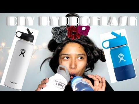 DIY HYDROFLASK #vsco #vscogirl #tiktokgirl
