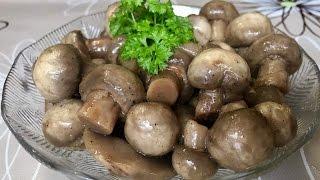 Рецепт вкусного маринада для грибов / маринуем шампиньоны