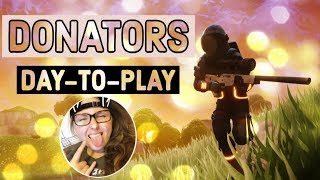 | FORTNITE| Top Tier Gaming - NEW OBLIVION SKIN! Donators Day-to-Play