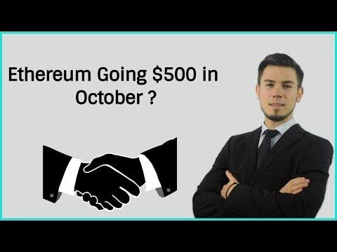 Ethereum Going $500 in October ? Price Analysis